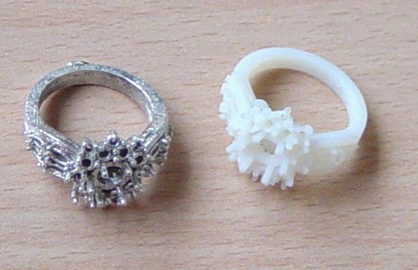 prototipos en joyería