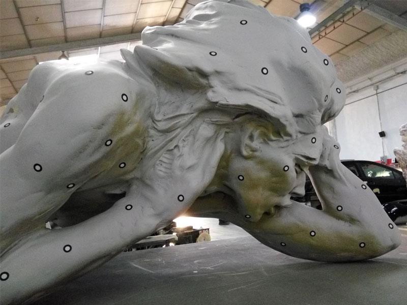 Escultura resina