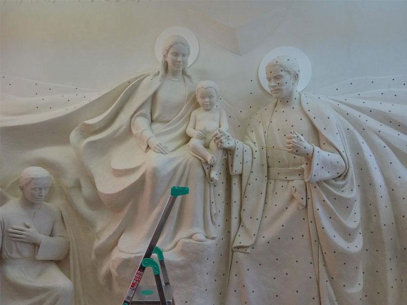 Digitalizado 3D escultura