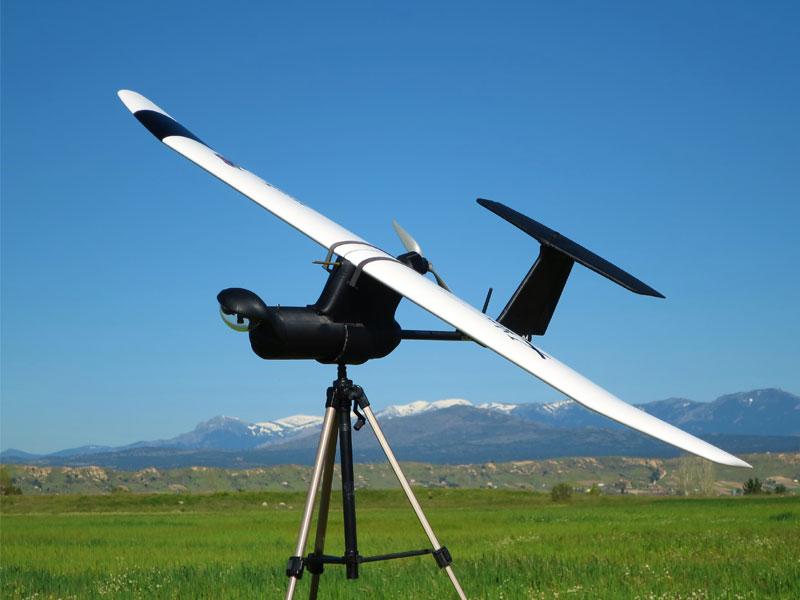 Dron en el aire