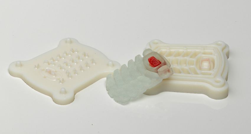 prototipos en silicona