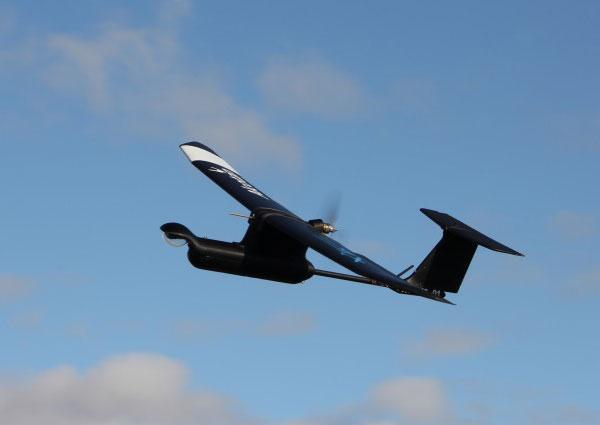 Dron con piezas impresas en 3D